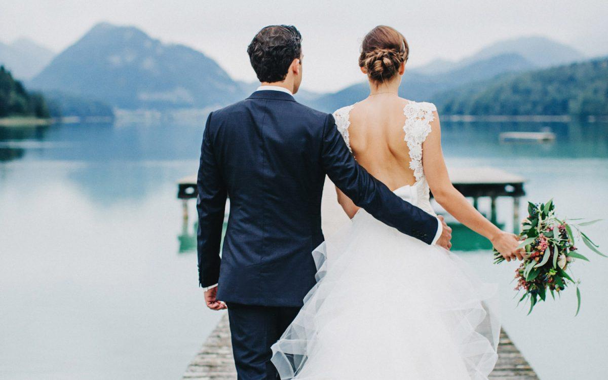 Autumn Lakeside Wedding