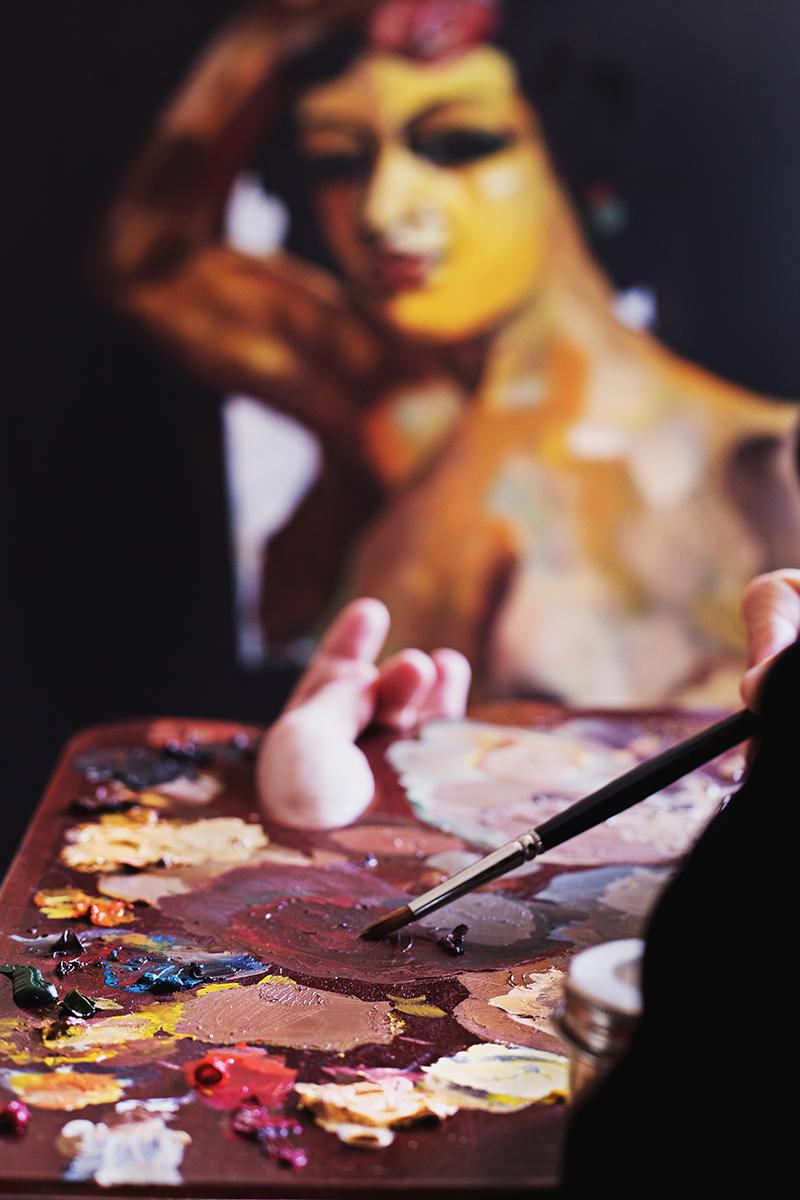 Fine Art Portrait,Portrait Fotograf Daniela Porwol aus Wien, Fotoshooting in Paris 00