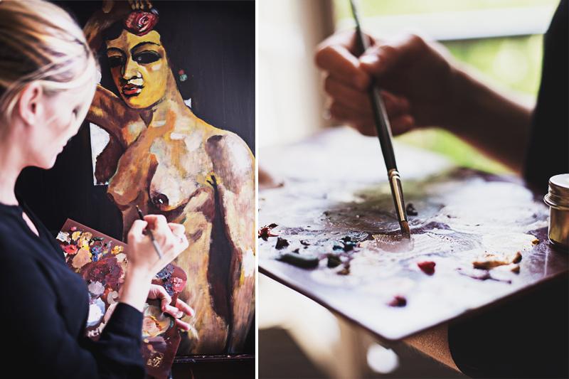 Fine Art Portrait,Portrait Fotograf Daniela Porwol aus Wien, Fotoshooting in Paris 1