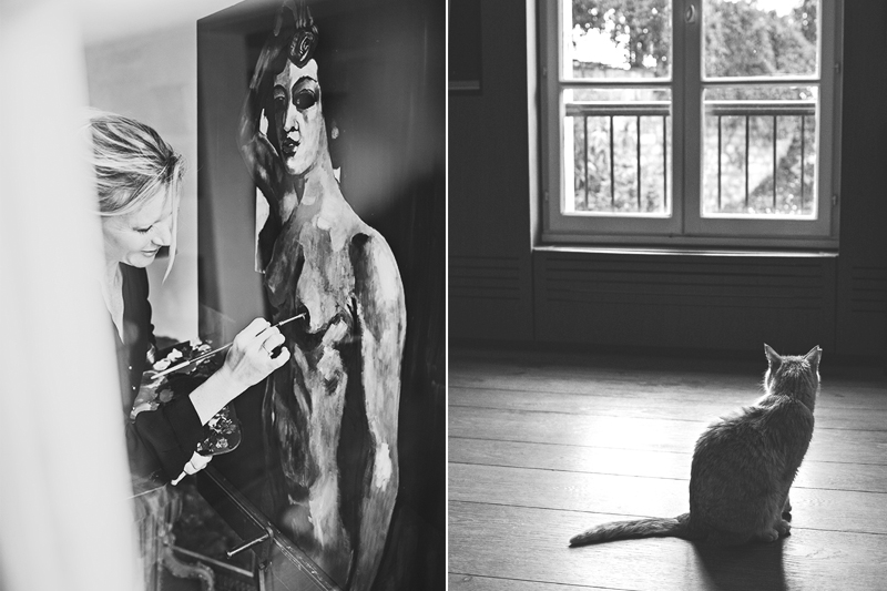 Fine Art Portrait,Portrait Fotograf Daniela Porwol aus Wien, Fotoshooting in Paris 2