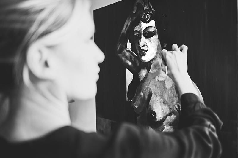 Fine Art Portrait,Portrait Fotograf Daniela Porwol aus Wien, Fotoshooting in Paris 3