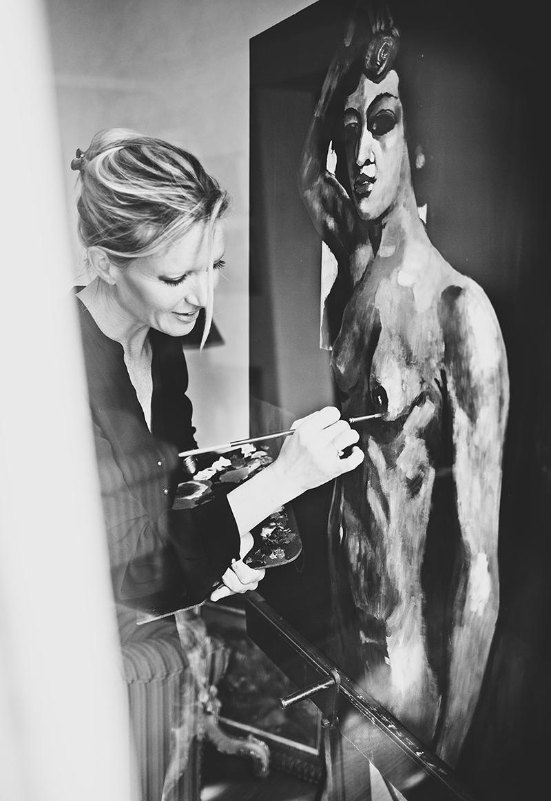 Fine Art Portrait,Portrait Fotograf Daniela Porwol aus Wien, Fotoshooting in Paris 9