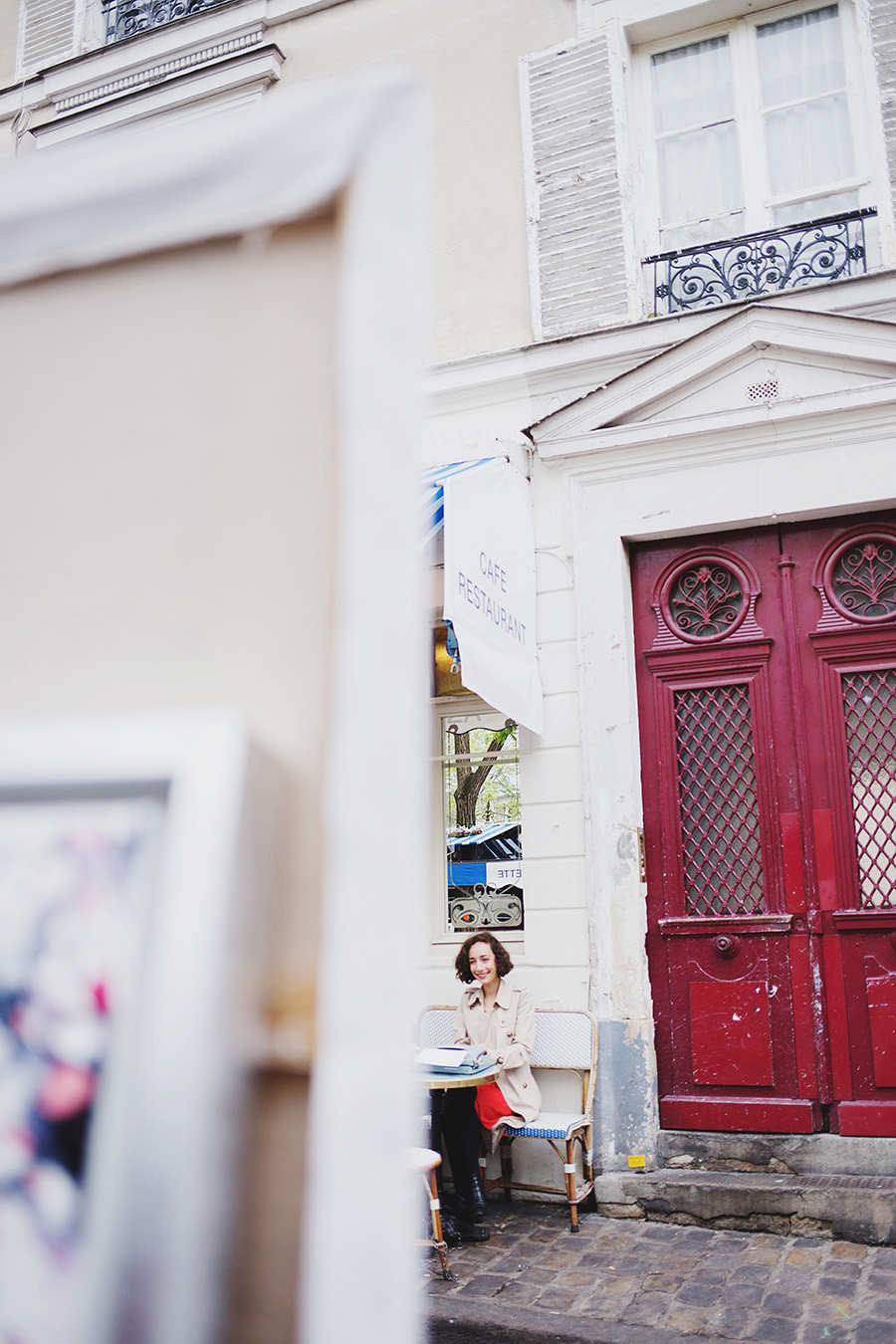 Fine Art Portraiture, Shooting mit Anissa in Paris