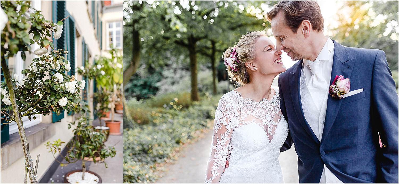 Elegante Hochzeit auf Schloss Berge im Ruhrgebiet in Gelsenkirchen