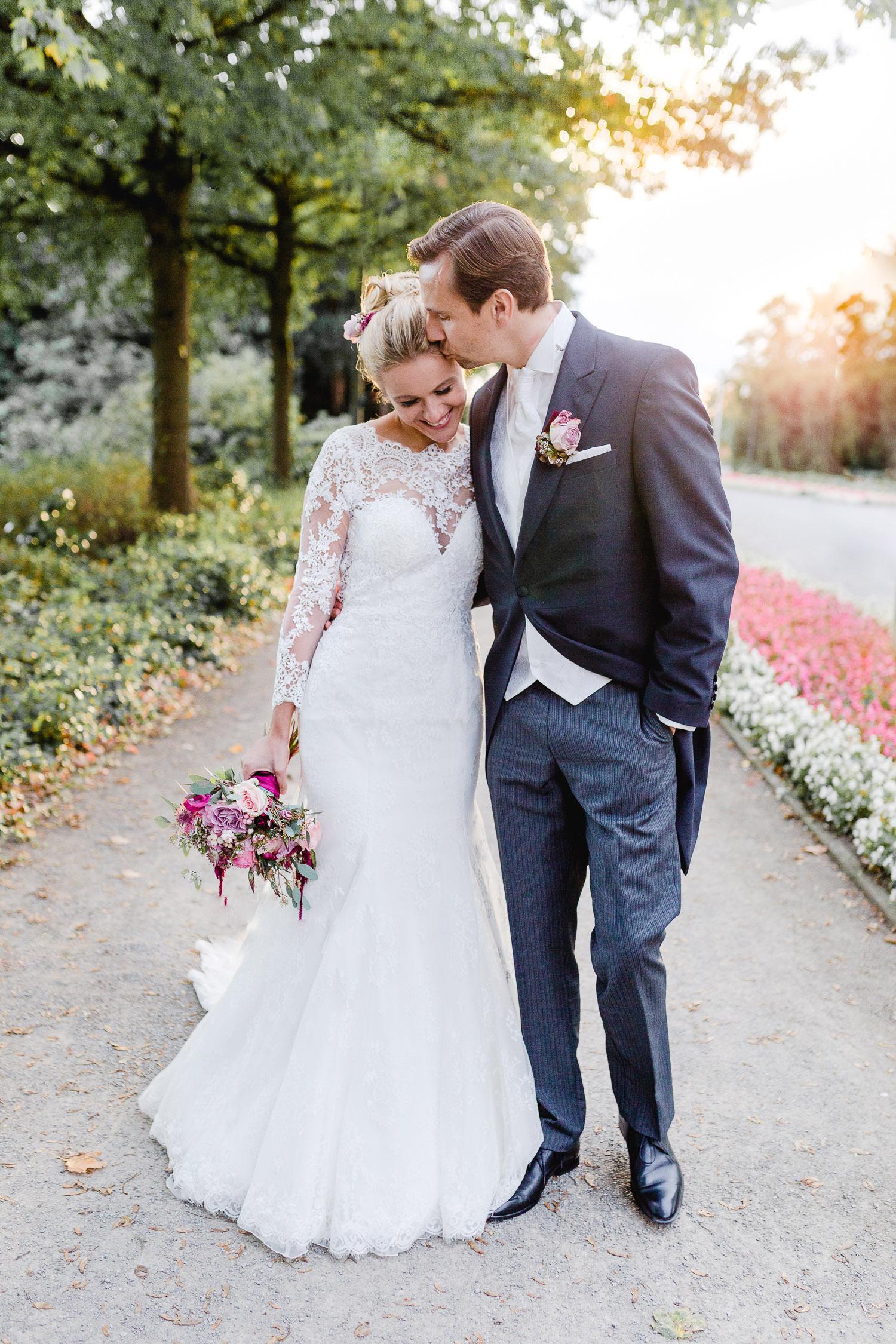Elegante Fine art Hochzeit - Trauung in Dorsten