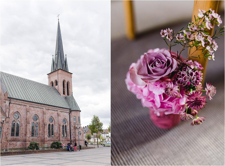 Elegante Hochzeit auf Schloss Berge im Ruhrgebiet in Dorsten